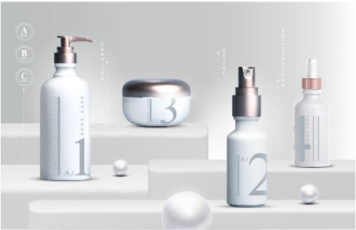Création de marque cosmetique